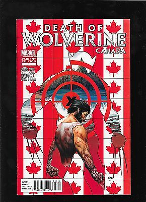 Death of Wolverine 1 2 3 4 set 2014 CANADA variant covers