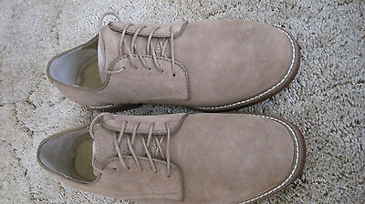 Men's BASS shoes - NEW - Tan Bucks - Size 9.5D Leather