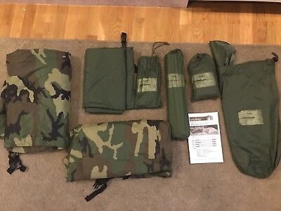 Eureka military ICS 2000 Improved Combat Tent- made in USA, 1-Person