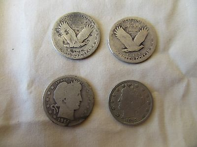 4 Coin Lot Of Us  Coins