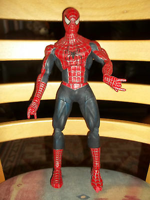 Spider Man Action Figure Marvel Toys 2004 Movable Joints 12 1/2 Inches