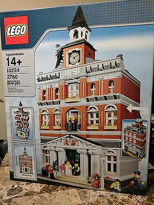 LEGO Creator Town Hall (10224) Modular Building Retired New in Sealed Box