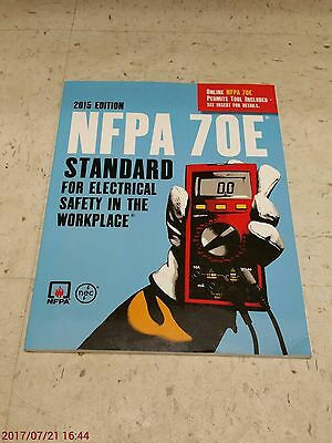 2015 NFPA 70E Standard for Electrical Safety in the Workplace Softcover