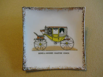Vintage Miniature Plate - Made in Japan - Bond Ware L&M