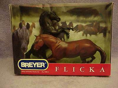 Breyer Horse Classic Flicka and Yankee Set #750013 Made in 2006 Free Ship