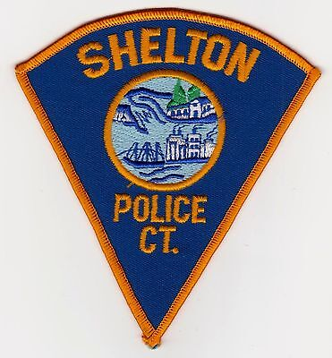 Shelton Connecticut Police Police Patch Never Used Clean Free Shipping