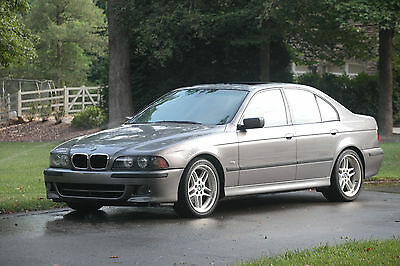 2003 BMW 5-Series M SPORT MANUAL BMW 540I M SPORT PACKAGE MANUAL (RARE)