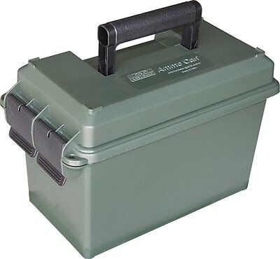 Forest Green 50 Caliber Ammo Storage Can Ammunition Cans Box Case Container