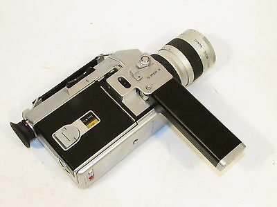 CANON AUTO ZOOM 814 SUPER 8 8mm FILM MOVIE CAMERA w C-8 7.5-60mm LENS - AS-IS