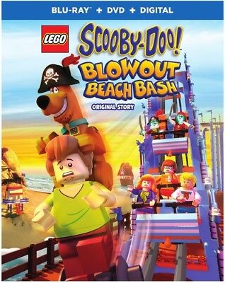 LEGO Scooby-Doo! Blowout Beach Bash [New Blu-ray] 2 Pack, Ac-3/Dolby Digital,