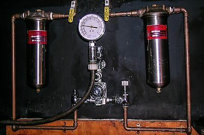 Lawler Temperature Control Water Mixing System & Stainless Steel Filter Holders