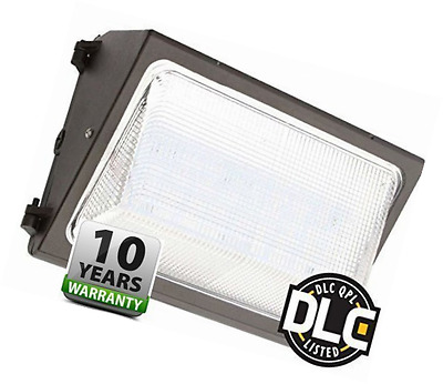 UL & DLC Listed- LED 80W Wall Pack DIMMABLE Outdoor Lighting, 5000K Cool White,