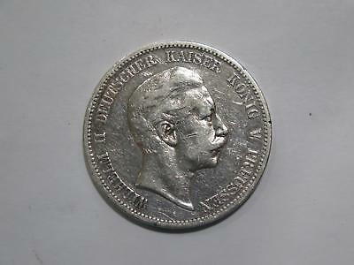 1894 A Germany 5 Funf Mark Deutsches Reich Silver Coin Old World Collection Lot