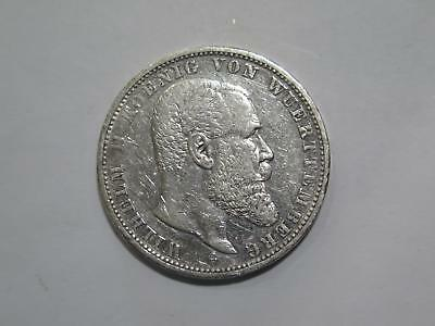 1907 F Germany 5 Funf Mark Deutsches Reich Silver Coin Old World Collection Lot