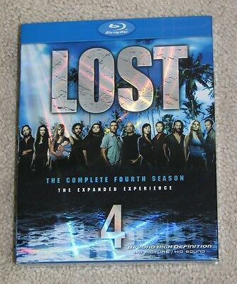 NEW Lost The Complete Fourth 4 Season Blu-ray - 5 Disc Set
