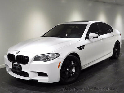 2014 BMW M5 4dr Sedan 2014 BMW M5 NAV REAR-CAMERA EXECUTIVE-PKG 20-WHELS PDC 560 HP WARRANTY MSRP$101k