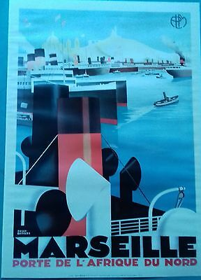 """Poster New Edition Plm """" Marseille """""""