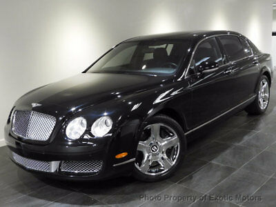 2008 Bentley Flying Spur 4dr Sedan 2008 BENTLEY FLYING SPUR AWD NAV REAR-CAM 4PASSENGER-SEATING A/CHEATED-STS 552HP
