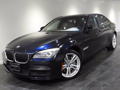 2011 BMW 7-Series 750Li xDrive 2011 BMW 750Li xDRIVE NAV LUXURY-SEATING/M-SPORT REAR-ENTERTAINMENT MSRP$109k