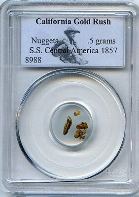 Ship Of Gold Ss Central America Gold Nuggets / California Gold Rush
