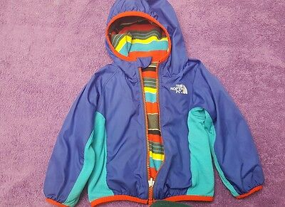 The North Face Baby Reversible Grizzly Peak Wind Jacket 3-6 Months