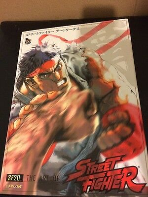 SF20: The Art Of Street Fighter Special Hardcover Limited Edition Udon Capcom