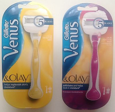 Gillette Venus & Olay Razor+Shower Holder(Moisture Bar Razor Or Sugarberry Razor