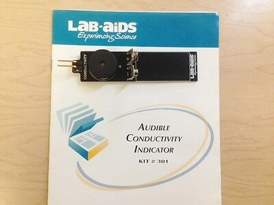 Lab-Aids KIT # 301 Audible Conductivity Indicator and Chemplate Kit, New