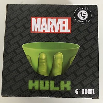 "Loot Crate Exclusive Marvel Hulk 6"" Bowl (NEW)"