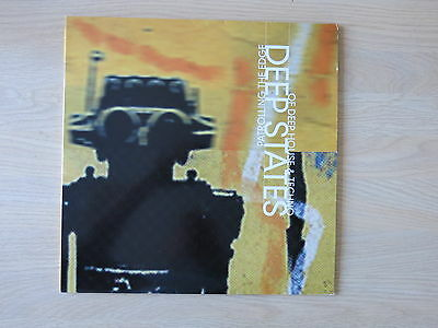 DEEP STATES, PATROLLING THE EDGE OF DEEP HOUSE & TECHNO UK double vinyl LP