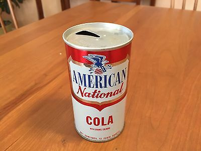 American National Cola - 70's Vintage Soda Can