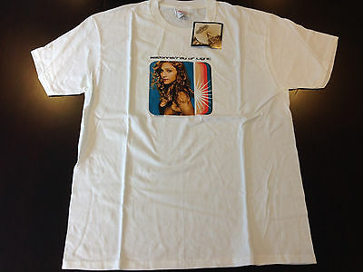 Rare Vintage 1998 MADONNA Ray of Light T Shirt Brand New with Tags