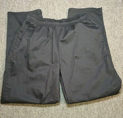 Chef Uniforms Pants Mens Women's Medium Black Preowned Kitchen Cook Prep Quality