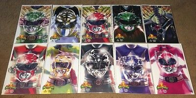 POWER RANGERS #0 10 Very Rare Variant Cover Collection FEP Boom Saban