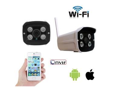 Ip Camera P2P Telecamera Wireless Wifi Ir Infrarossi Ipcam Sd Per Esterno 604