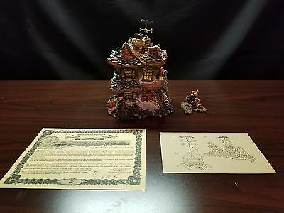 Boyd's Bearly-Built Villages Boo Beary Mansion #19012 (MIB)