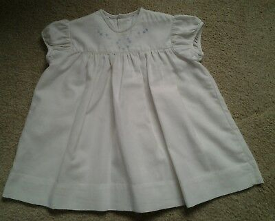 Vintage Clydella Baby Dress by Viyella size 16
