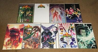 POWER RANGERS #1 Very Rare Variant Cover Collection FEP Boom Saban
