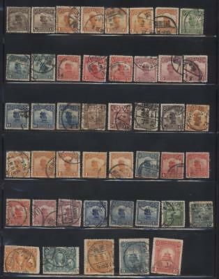 China, A Page Of  Used Stamps-Nice Quality
