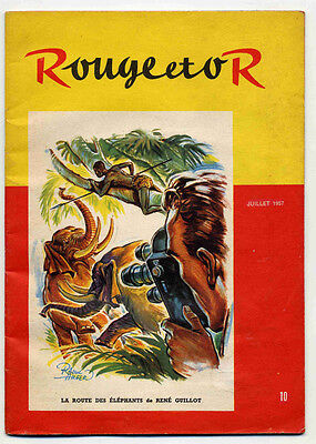 Rouge et Or 2 catalogues 1957 TBE