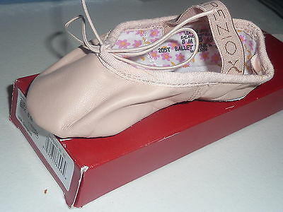 Capezio Daisy Leather Pink Toddler's Ballet Shoes Size 8 M   New