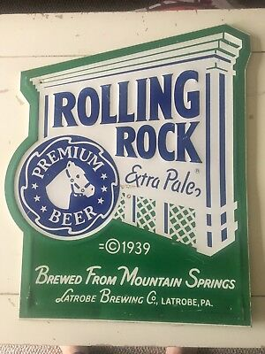 Rolling Rock Sign 1989