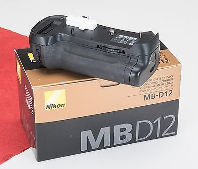Genuine Nikon MB-D12 Battery Grip - Perfect Condition