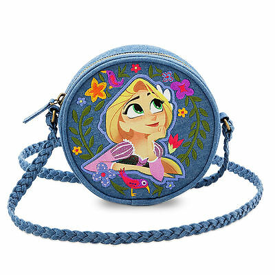 DISNEY STORE Purse RAPUNZEL in BLOOM Circle BAG Small NWT