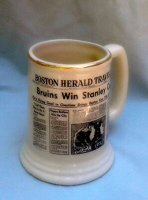 Boston Bruins Stanley Cup Mug 1970