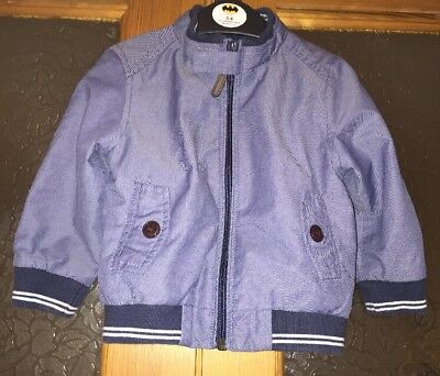 Excellent Condition!! Boys Short Jacket From Next Age 12-18 Months