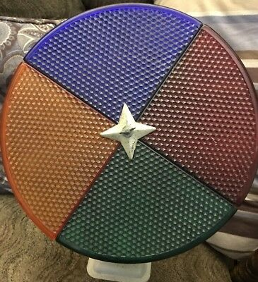 Vintage Penetray Color Wheel for Aluminum Christmas Trees