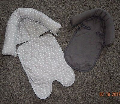 Newborn Size--Child Of Mine Brand Carseat Head Supports For Twins--Excellent