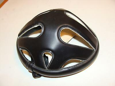 ~ Vintage NOS Cinelli Italian Leather Hairnet Style Cycling Helmet Size S or 6 ~