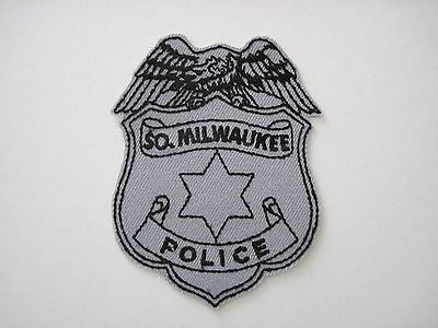 South Milwaukee Wisconsin Police Breast Patch